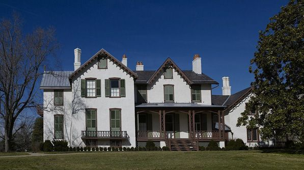 Lincoln S Summer Home Washington Dc Located On A Picturesque Hilltop In Washington Dc President Lincoln S Co Real Estate Buying Historic Homes Real Estate