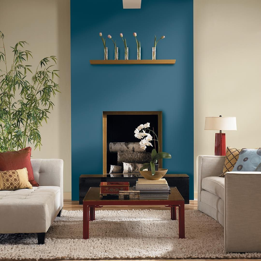 'Avalon Teal' Is Just The Perfect Shade For A Feature Wall