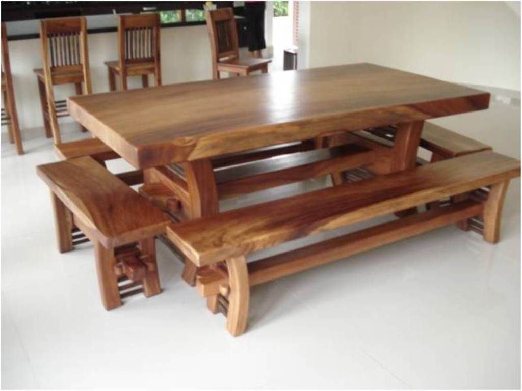 Muebles rusticos casa quinta comedores small balcony products pinterest wood table - Muebles de madera rusticos ...