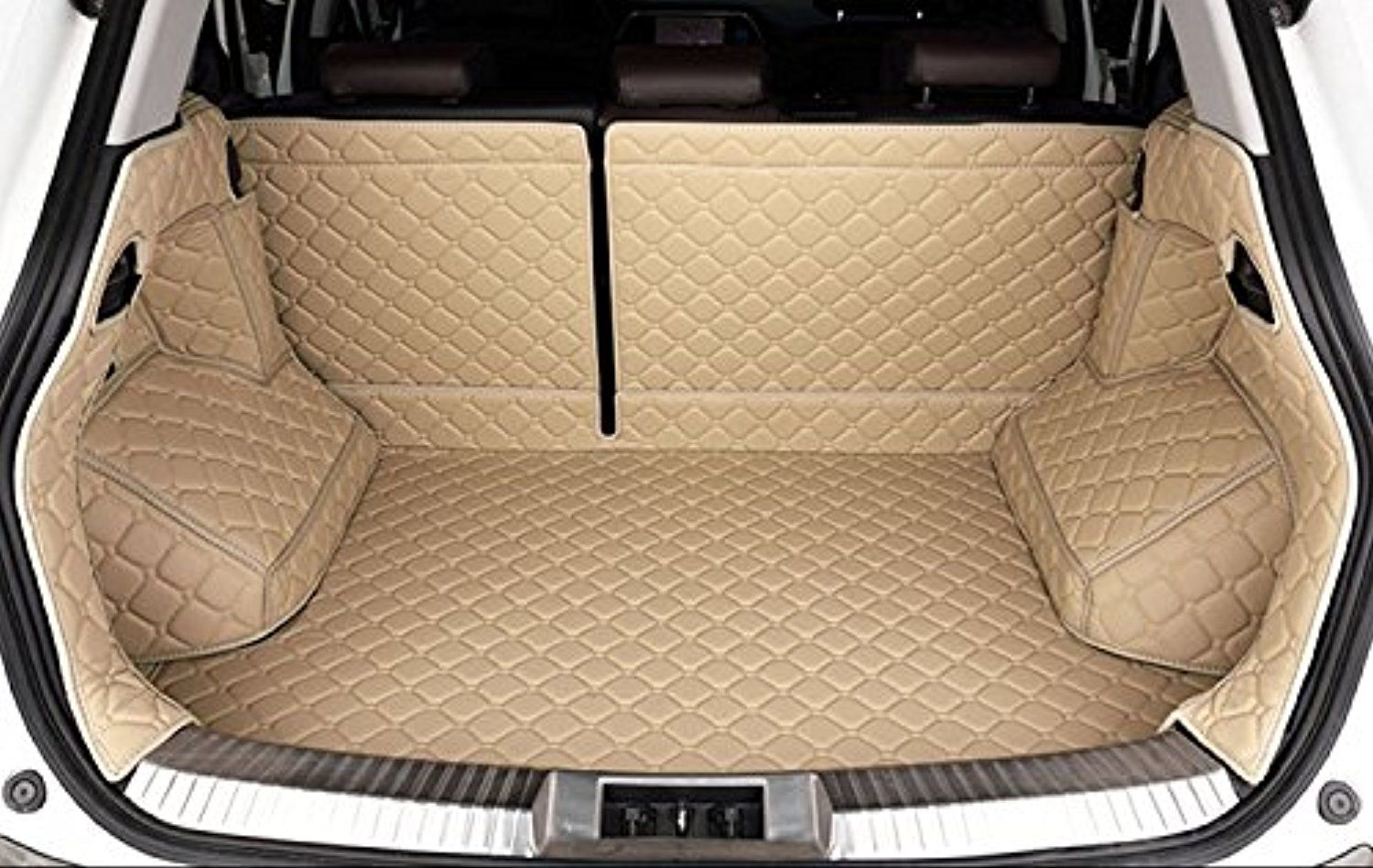 Auto Mall Waterproof Custom Fit Cargo Mat Trunk Liners Car