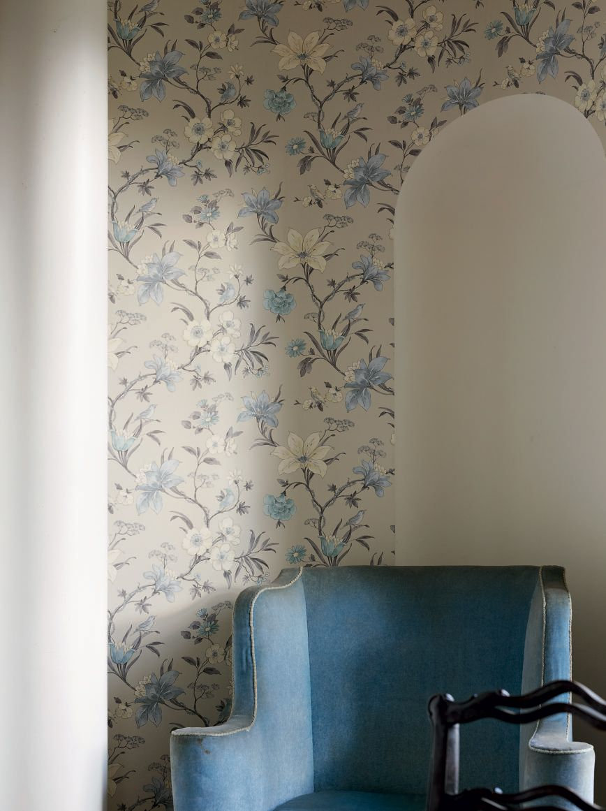 New Country House Collection Secret Garden Rivington Wallpaper
