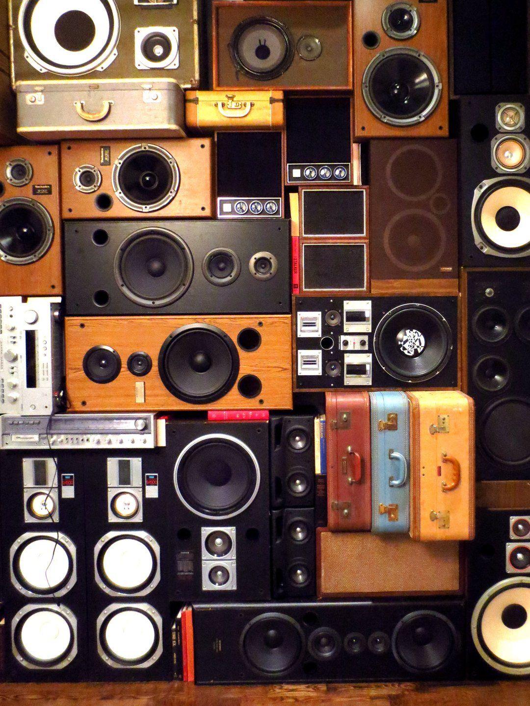 Speaker Wall in 2020 Speaker, Wall, Vinyl records music