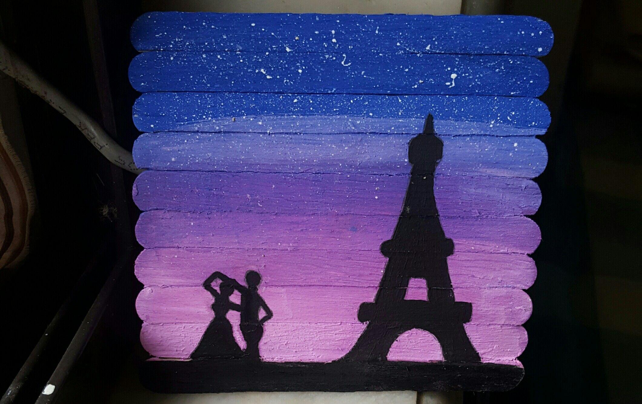 A beautiful night in the city of love | DIY | Pinterest | Dibujo ...