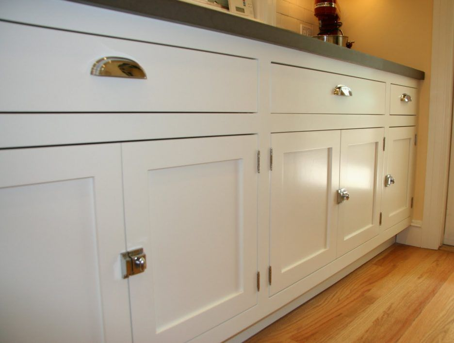 Image Result For Modern Cabinet Finger Pulls White Kitchen