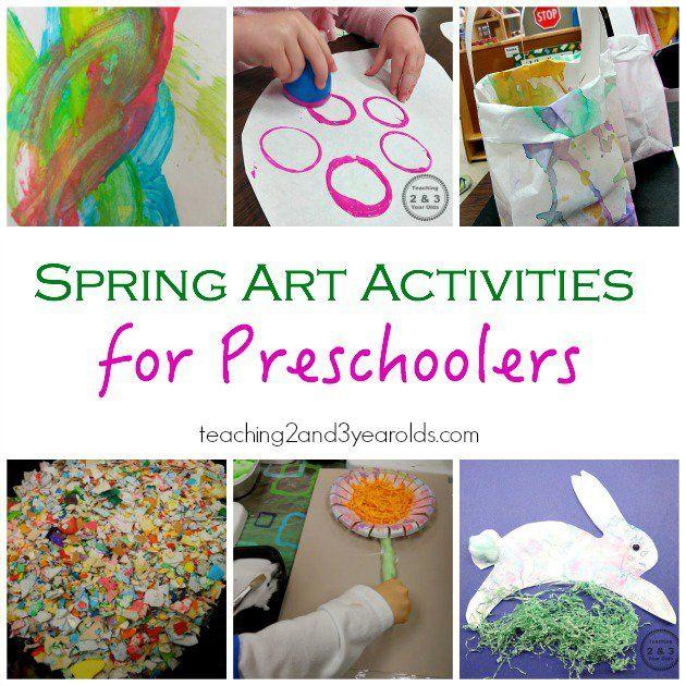 Spring Activities For Preschoolers Spring Activities Spring Preschool Preschool Activities
