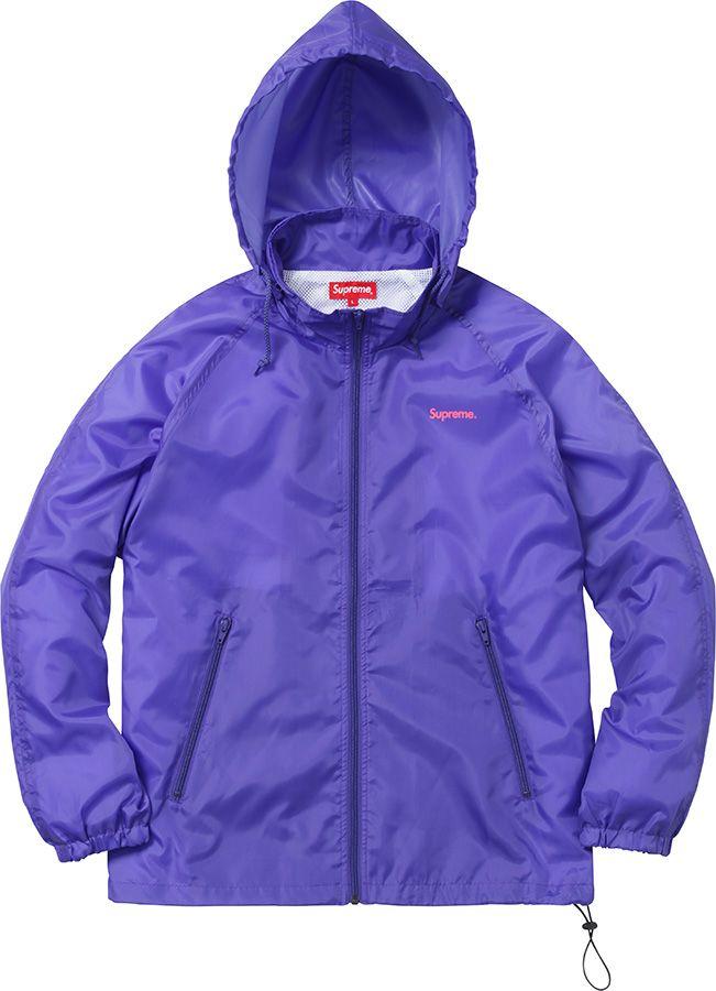 Supreme Windbreaker Warm Up Jacket