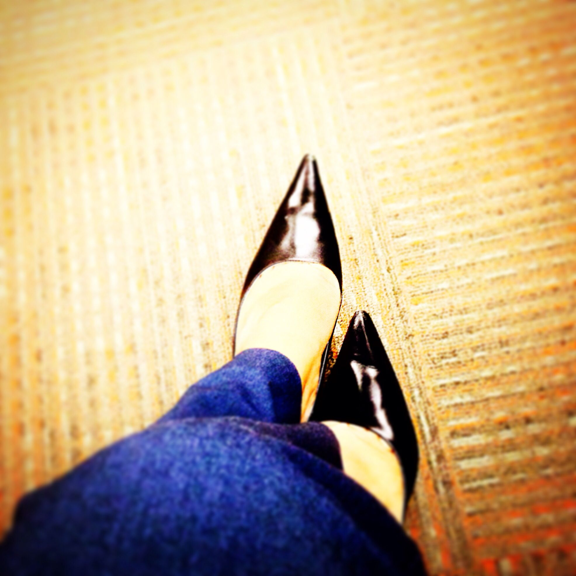 Shoes for after work margarita. No longer appropriate for the office- trip hazard.