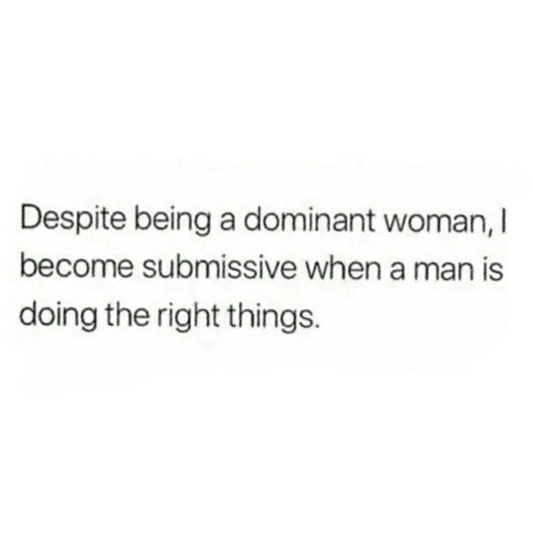 submissive behavior relationships