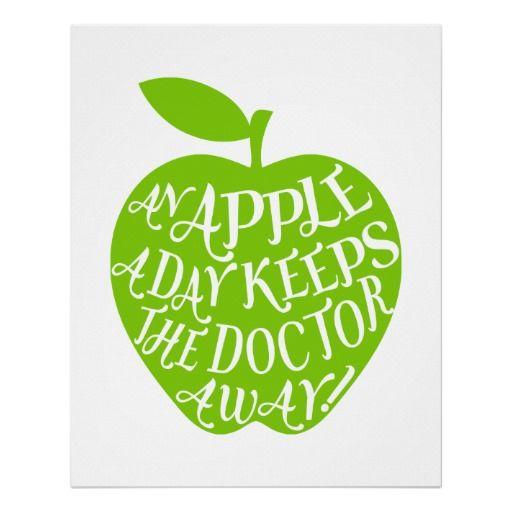 Una manzana al día mantiene al doctor ausente