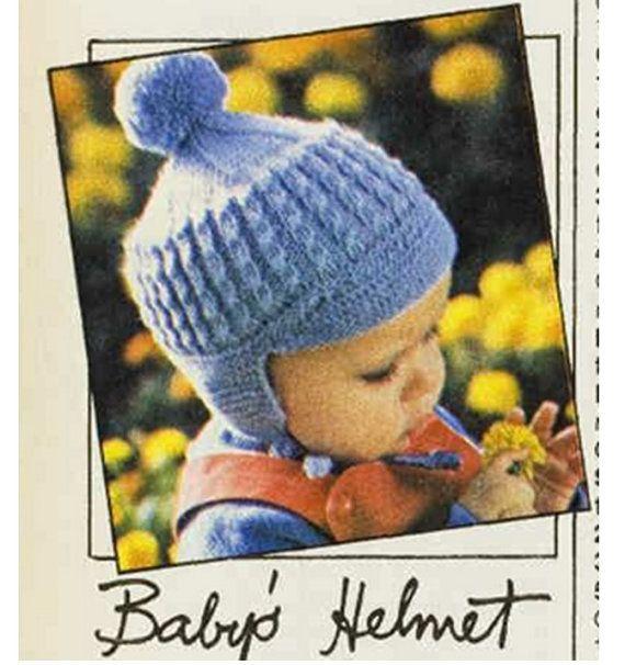 Crochet Baby Helmet Hat Pattern Vast