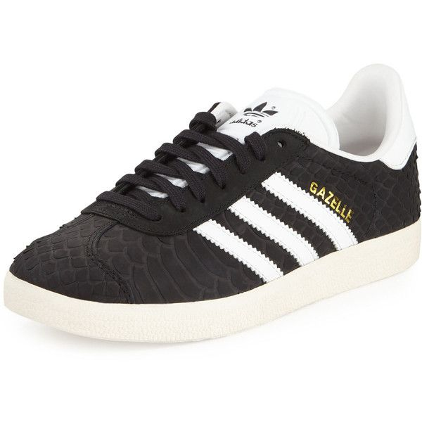 55f662be8279 adidas Gazelle Original Snake-Embossed Sneaker (138 AUD) ❤ liked on Polyvore  featuring shoes