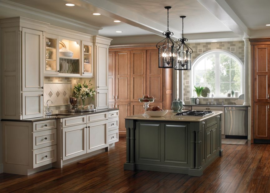 Windsor and Sheffield by Schuler Cabinetry at Lowes. Color ...