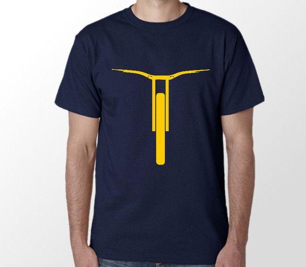 Cool downhill mtb short sleeve tshirt