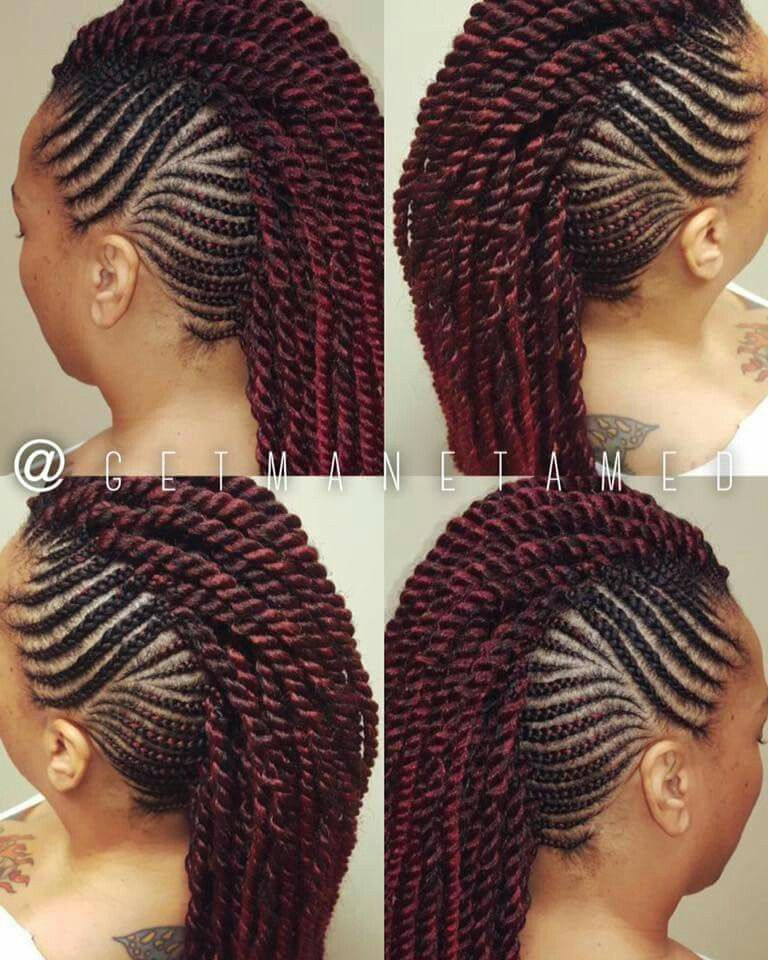 Pin On Braided Mohawks
