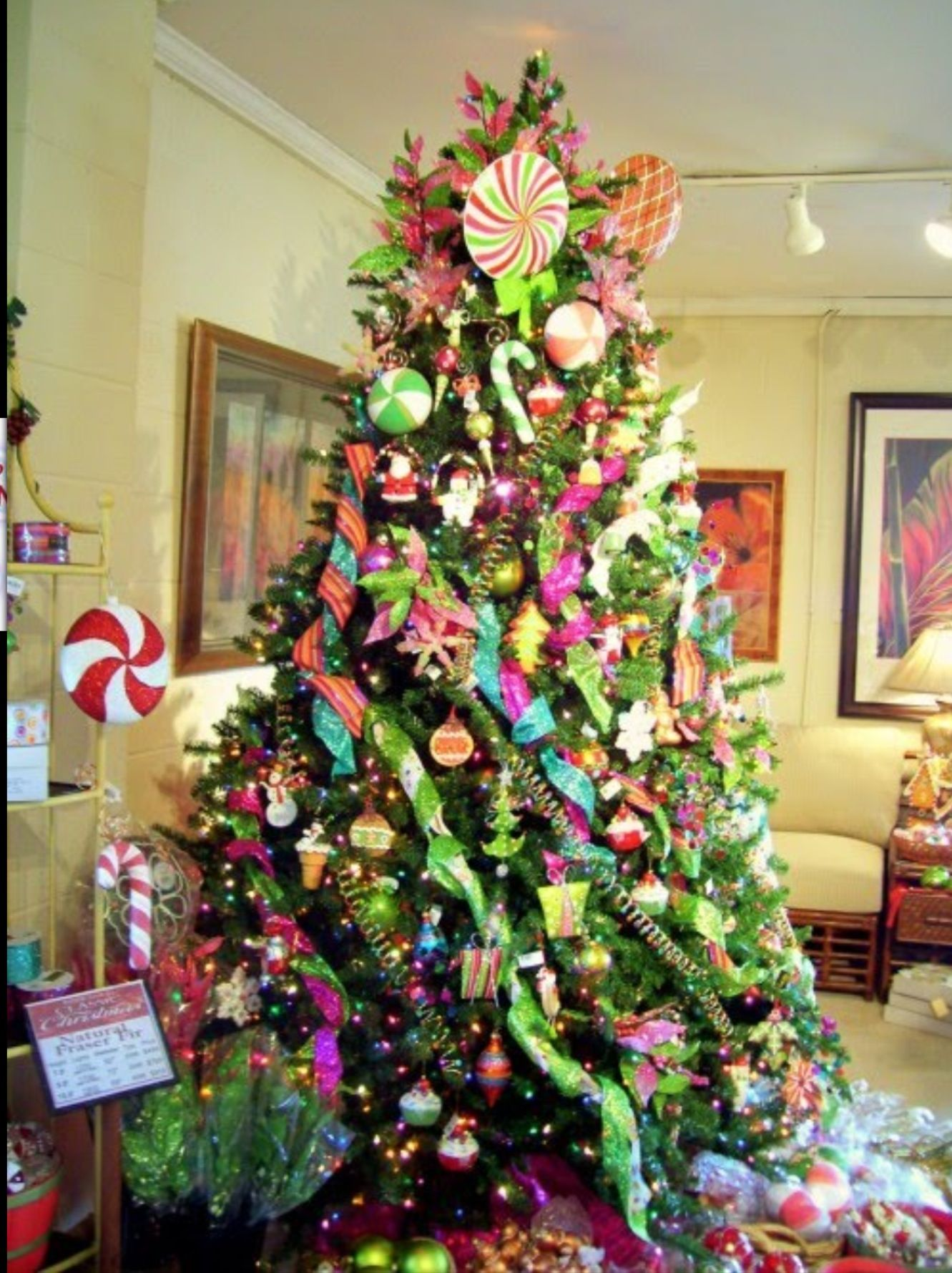 Image Detail For Sugarplum Christmas Tree Decorating Ideas