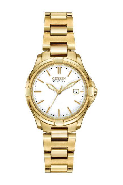 Citizen Women S Eco Drive Silhouette Sport Watch 28mm Gold Watch Sports Bracelet Bracelet Watch