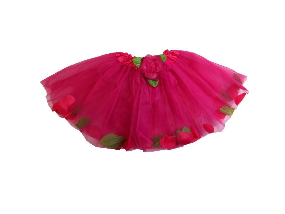 Hot pink rose petal tutu kissing frogs pinterest hot pink roses