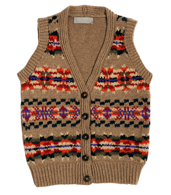 Children's Fair Isle waistcoat (knit in cashmere) | Crafts ...