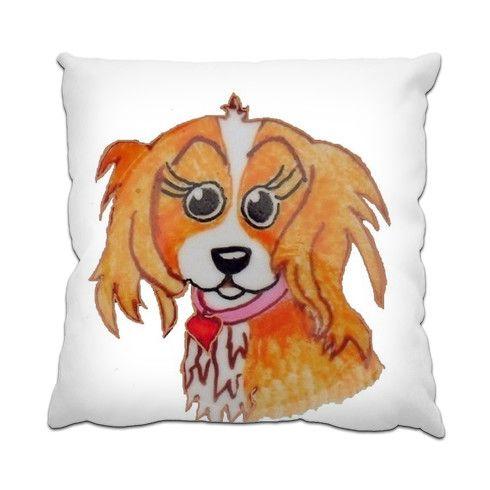 CAROLYN Cushion by pennyjarvis at zippi.co.uk