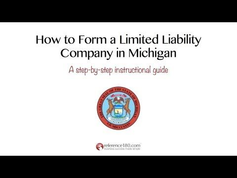 Visit Http Www Reference180 Com Michigan Llc And Download Your Free Michigan Llc Quick Start Guide Get Instructions Forms Worksh Michigan Form Instruction