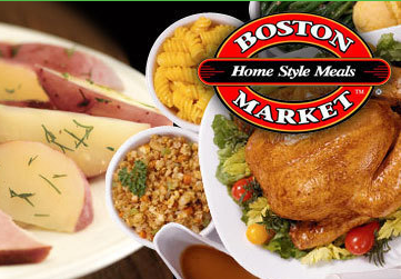 Thank you Boston Market, this year's food sponsor