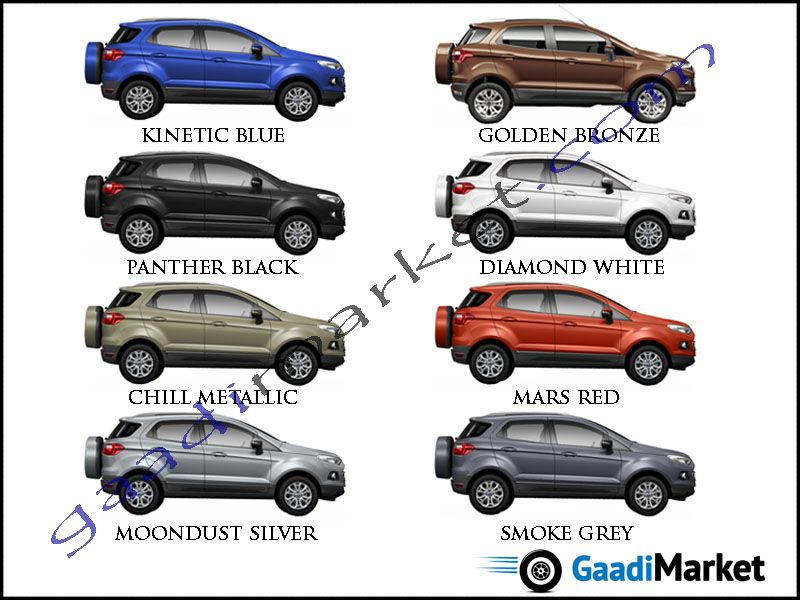 2018 F150 Colors >> Ecosport Colours | FORD COLOUR OPTIONS | Pinterest | Ford ecosport, Ford and Cars