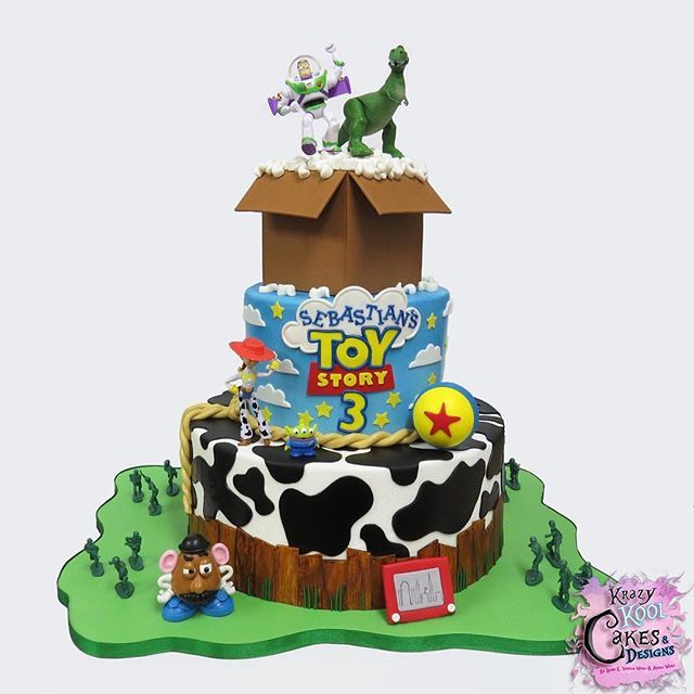 Hi Sweet Friends Id Like To Share Our Toy Story Birthday Cake We