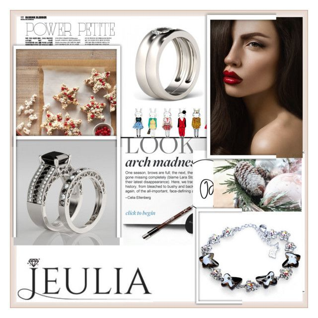 """""""JEULIA 9"""" by damira-dlxv ❤ liked on Polyvore featuring mode, jewelry en jeulia"""