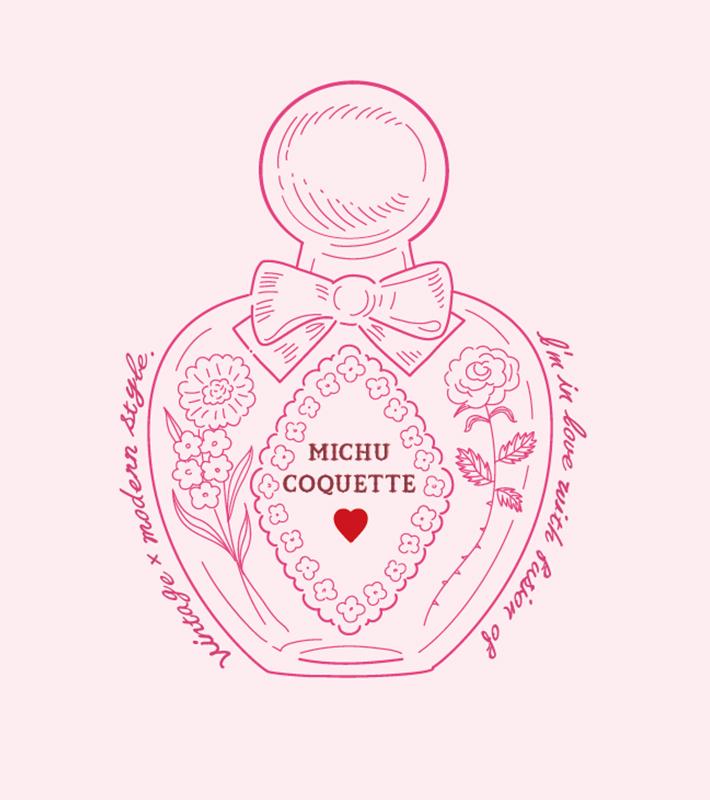 Michu Coquette ミチュ コケット ファッション通販 ウサギオンライン公式通販サイト 2021 ウサギ アイコン 5周年