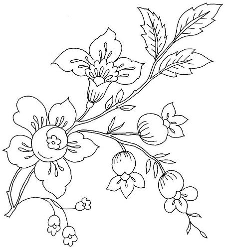 Floraldover3 Floral Embroidery Patterns Embroidery Art Vintage Embroidery