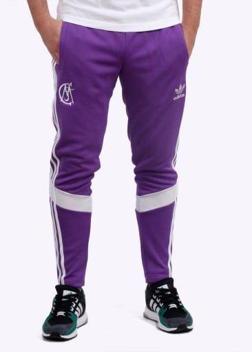 Adidas Originals Apparel Real Madrid Track Pants Purple