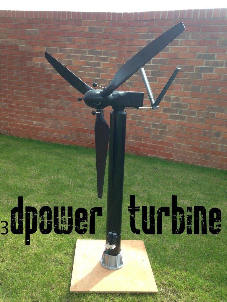 photo regarding 3d Printable Wind Turbine known as Épinglé sur Impact 3d