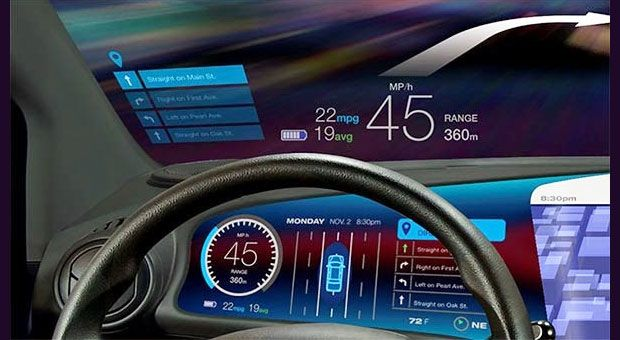 BlackBerry, Microsoft and the Ever-Smarter Connected Car - innovatives interieur design microsoft