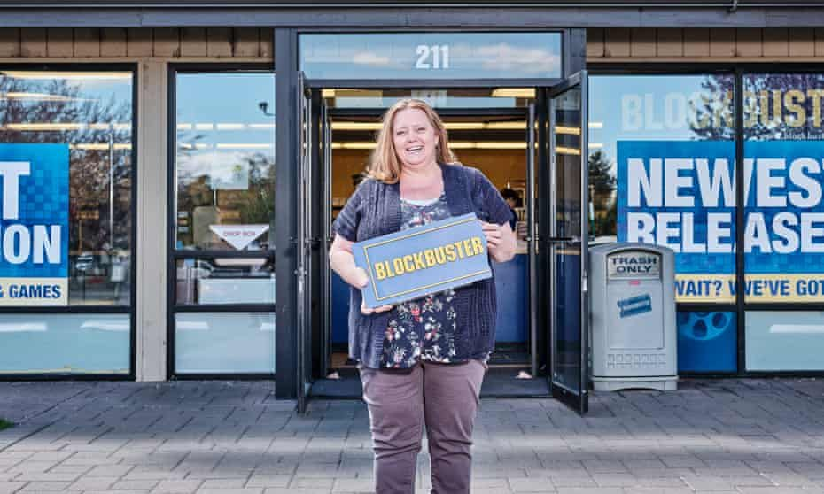 Experience i manage the last blockbuster in the world