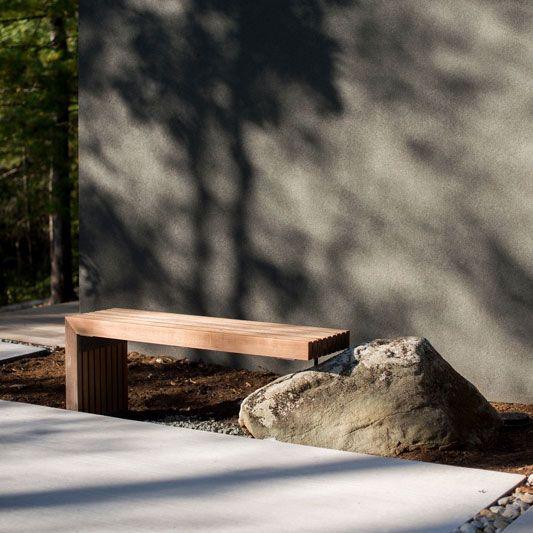 Ipe Bench Designed By Anna Boeschenstein D E S I G N