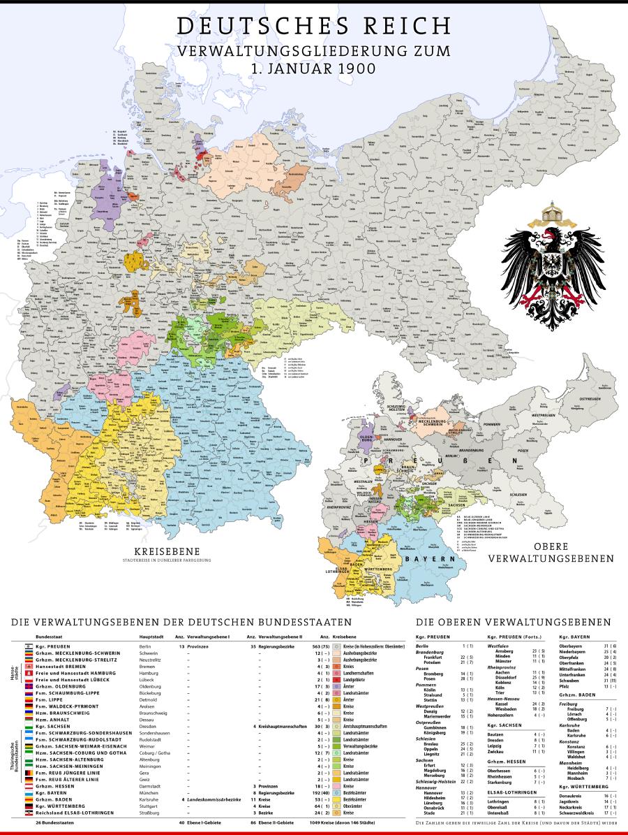 Constituent States German Empire Con Immagini Prussia Storia Mappe