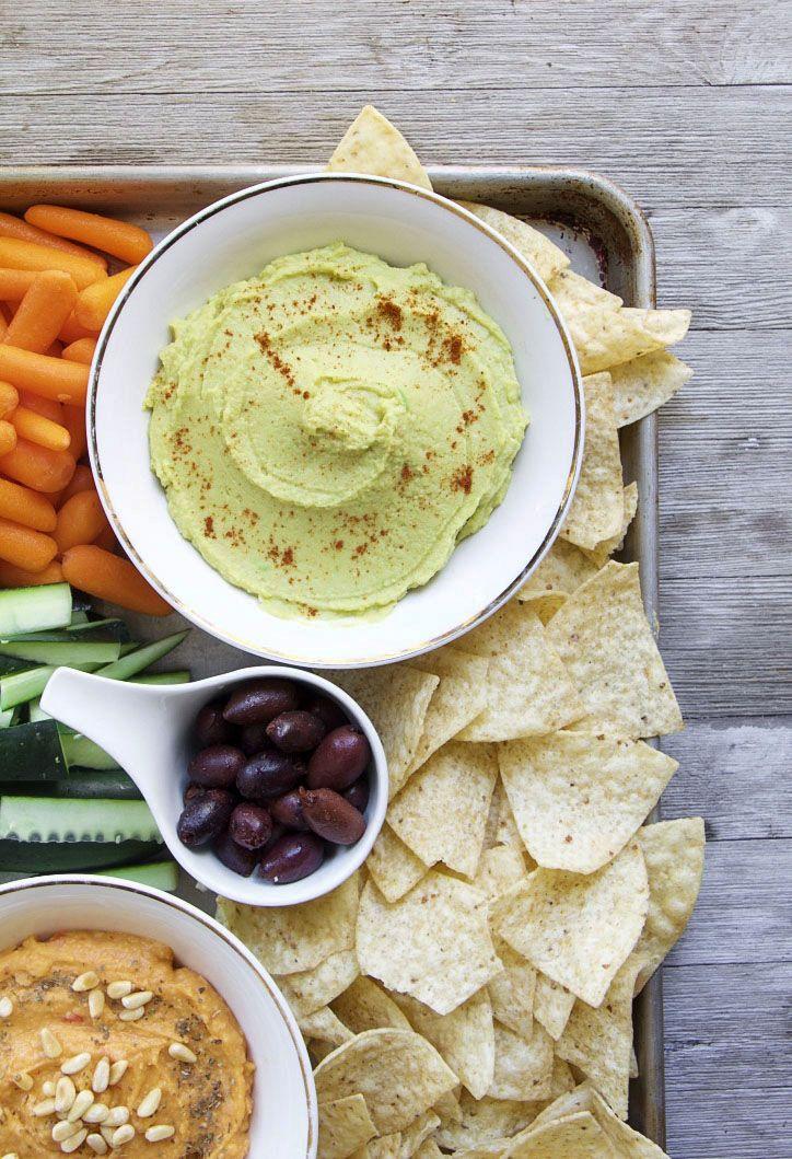 Avocado Hummus Tahini Free Oil Free Vegan Recipe Hummus