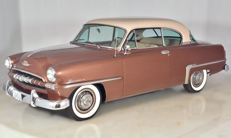 1953 plymouth 2 door