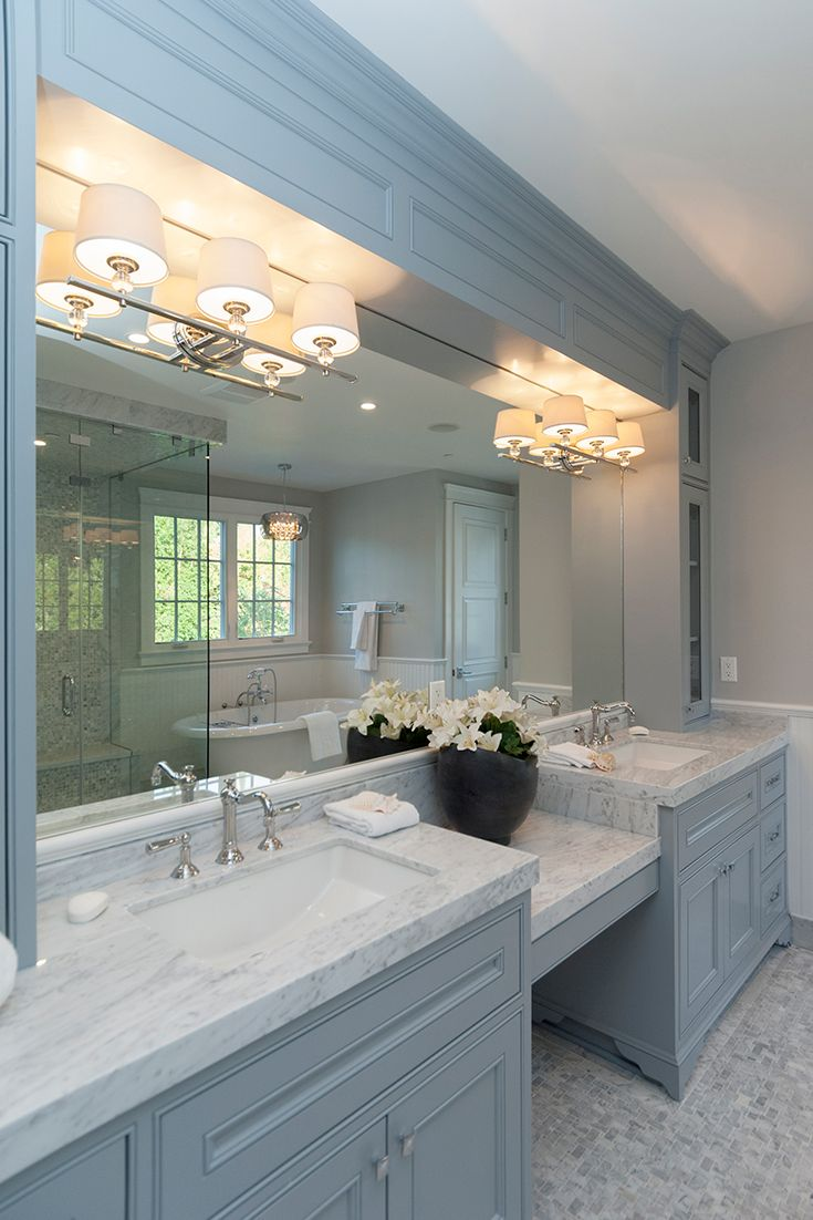 Up / Down vanity lighting is the most popular type of bath ...