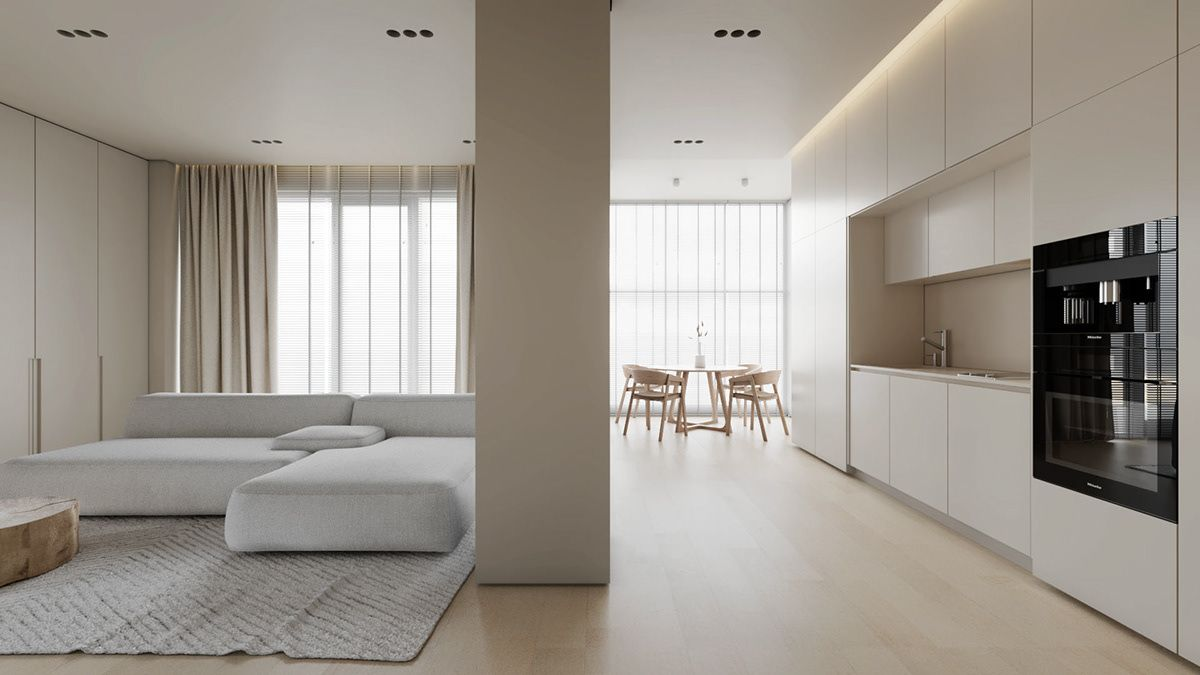 AP I white sand on Behance in 10   Interior design lounge, Small ...