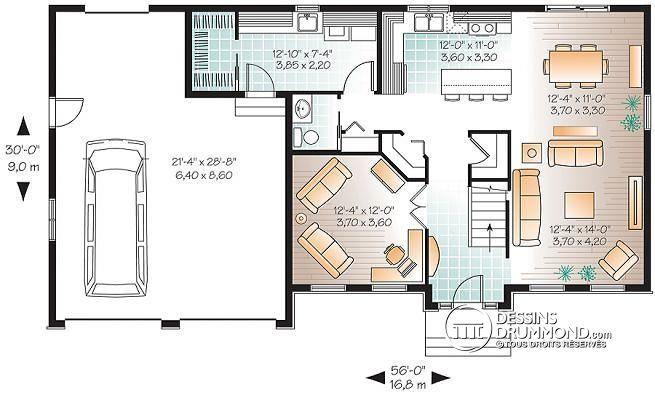 Prix architecte plan maison good maison basse l with prix for Architecte prix plan