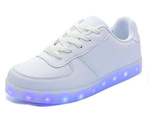 Brinny 7 Farbe Sneaker USB Aufladen LED Leuchtend Fasching ...