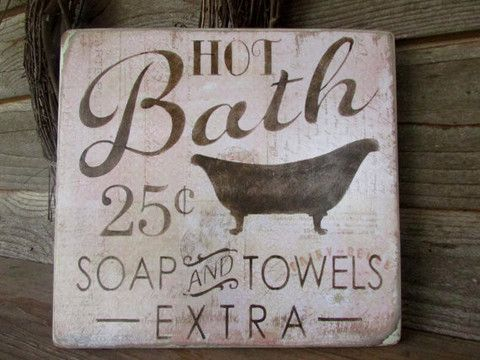 This primitive, rustic, country kitchen sign, is a great look for your primitive…