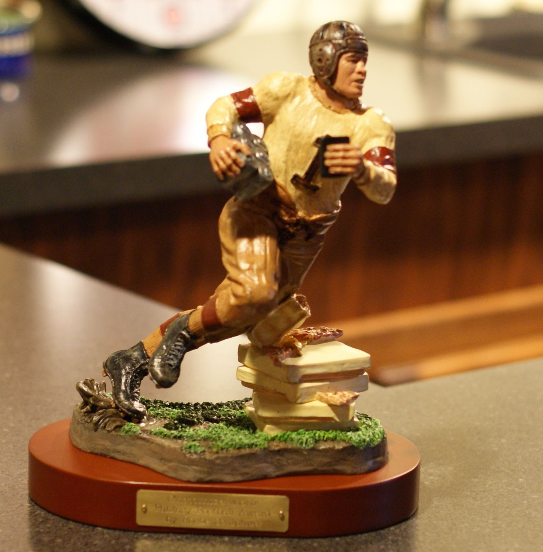 Unique Fantasy Football Trophy (Hand Sculpted & Painted