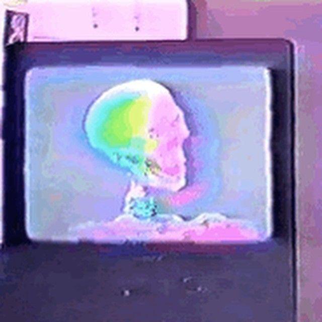 """""""#cyberholo #holopunk #glitch #pastelgoth"""""""