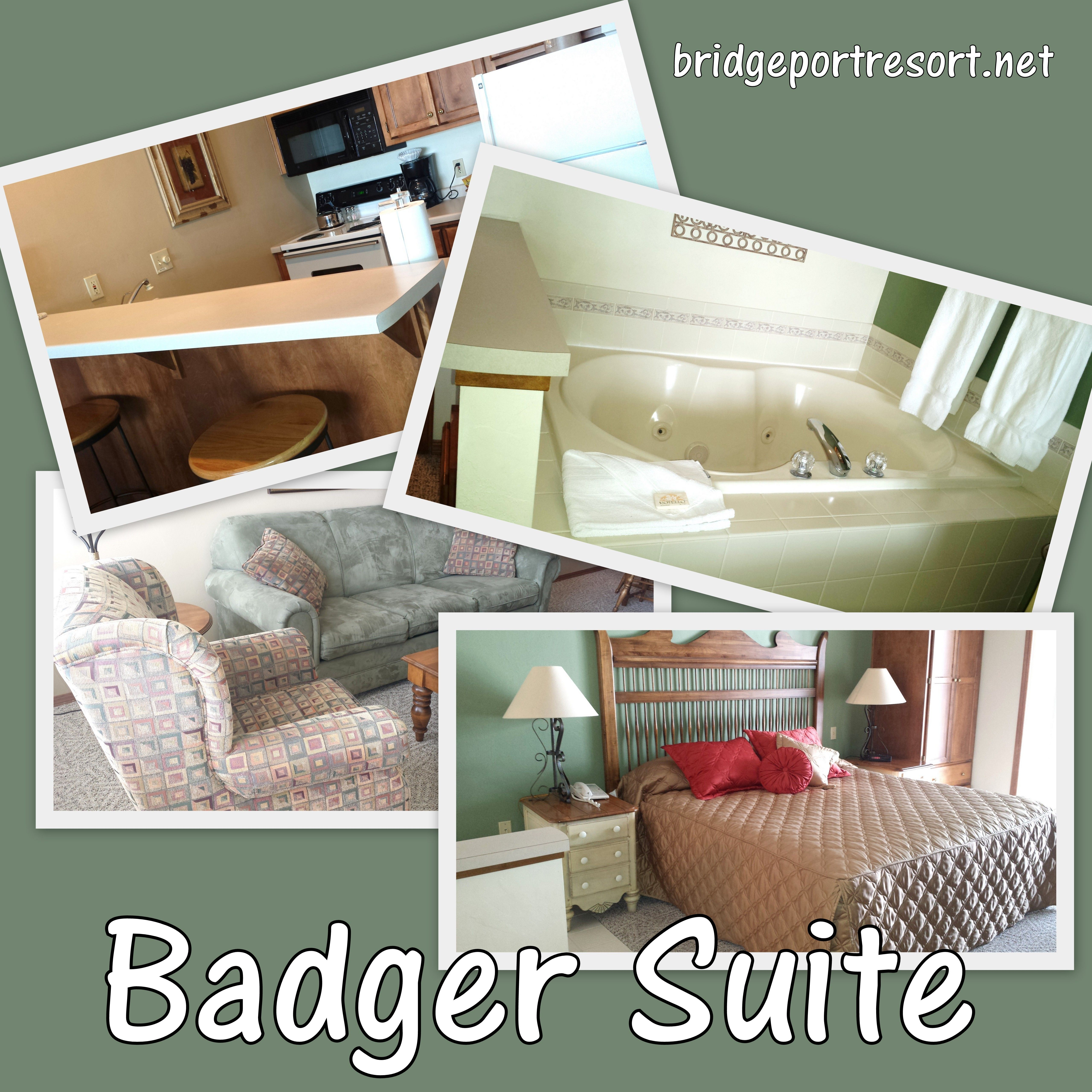 The Badger Suite at Bridgeport Resort in Door County.  sc 1 th 225 & The Badger Suite at Bridgeport Resort in Door County.   Bridgeport ...