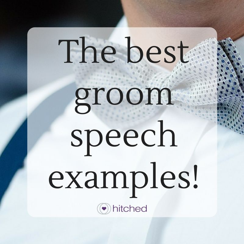 The Best Groom Speech Examples!