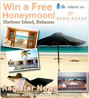 Win A Free Honeymoon In Our Wedding Giveaways Promotion Wedding Sweepstakes Wedding Giveaways Honeymoon
