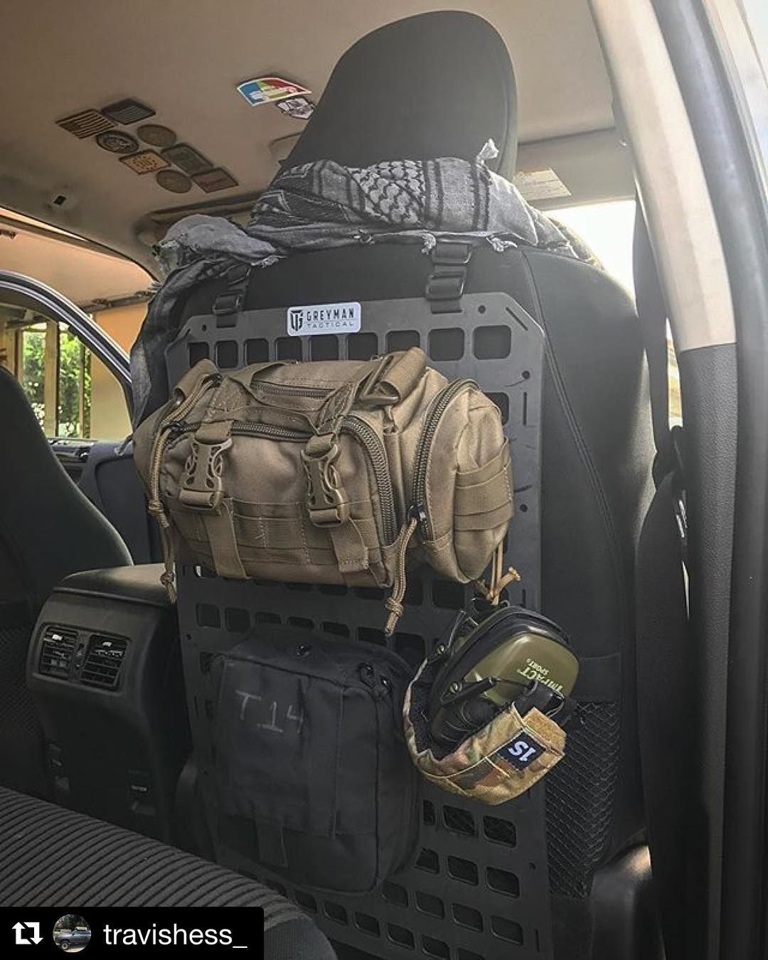 Repost Travishess Get Repost This Post Is Long Overdue For My Friends Over Greymantac I Purchased Their Mol Tactical Truck Expedition Truck Molle System