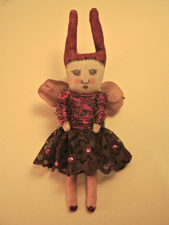 Christmas Fairy doll,angel art doll , Sandy Mastroni ,Sparkle angel ...